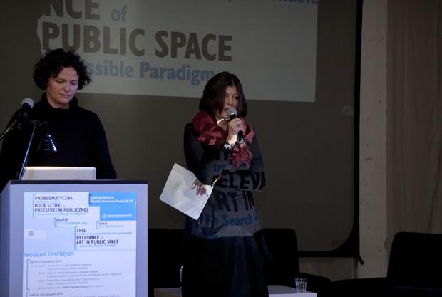 Cecilia Alemani i Julia Draganovic, fot. I. Pankowska & R. Suszko
